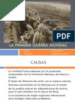 Tema 7. La Primera Guerra Mundial