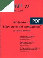 Risposta Al Libro Nero Del Comunismo