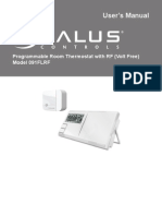 Salus controls Programmable Room Thermostat with RF (Volt Free)