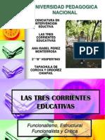 lastrescorrienteseducativas-090418212049-phpapp01.ppt