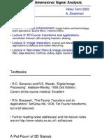 2-D Signal Processing