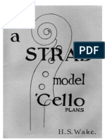 H S Wake - A Strad Model Cello Plans (Luthier-Lutherie-Violin-Cello) by Oganza[1]