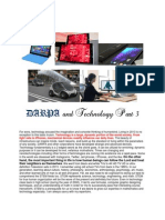 DARPA and Technology Part 3