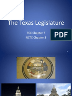 The Texas Legislature PPTX