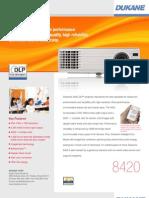 Dukane 8241 DLP Projector