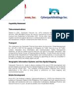 Cyberpark Telecom Cyberpark Holdings