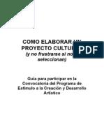 Manual Como Elaborar Un Proyectocultural Copia
