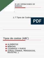1-7 Tipos de Costos