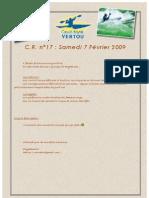 C.R. n° 17