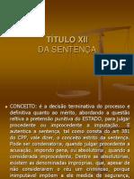 aula sentença