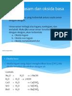 oksida asam, basa, dan amfoter