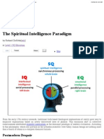 The Spiritual Intelligence Paradigm