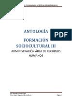 ANTOLOGÍA FORMACION III