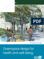Greenspace Design for Health and Wellbeing