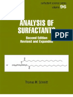 Analysis of Surfactants - T. Schmitt