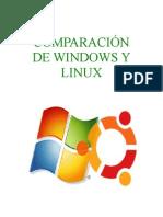 ComparaciÓn de Windows y Linux