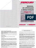 Manual de Proprietario Do Motor de Popa Mercury 8HP A