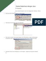 Program Pilihan Ganda Sederhana Dengan Java