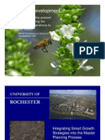 UofR Smart Growth Strategies for Master Planning Process