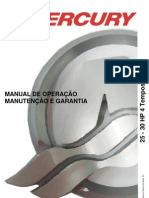 Manual de Proprietario Do Motor de Popa Mercury 25-30HP 4T EFI b
