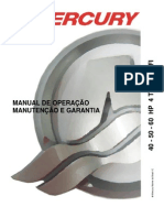 Manual de Proprietario Do Motor de Popa Mercury 40-50-60 HP 4T EFI b