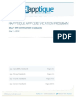 App Certification Standards Final