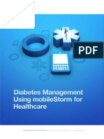 Diabetes Management With MobileStorm for Healthcare Sized