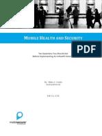 Mhealth Security Cronin