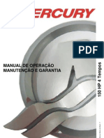 Manual de Proprietario Do Motor de Popa Mercury 150 EFI 4tempos HP