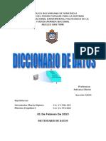 Trabajo Diccionario de Datos