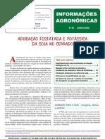 Soja - Adubação de P e K nos Cerrados