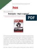 Eduardo Szklarz__anarquia - Aqui e Agora (Superinteressante)