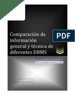 Comparacion Base de Datos