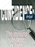 Confidence The Missing Substance of Faith - Creflo A Dollar
