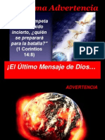 La Ultima Advert en CIA 7