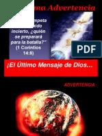 La Ultima Advert en CIA 7