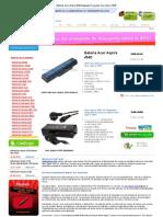 Baterías Acer Aspire 4540,Adaptador_Cargador Acer Aspire 4540