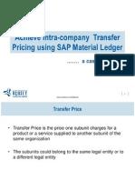 SAP Transfer Price