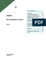CD 2 Manuals English STEP 7 - PID Temperature Control