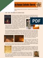 The Death of the Roman Catholic Church