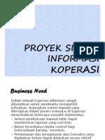 Proyek Sistem Informasi Koperasi