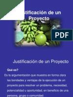 16 Justificacion de Un Proyecto