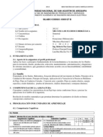 2012C Silabo Mecanica de Fluidos e Hidraulica - B