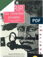 Immanuel Wallerstein - Abrir La Ciencias Sociales by Luis Vallester