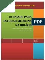 10 Passos para Estudar Medicina na Bolívia