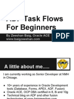 ADF taskflows for beginners..