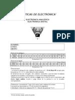 PRÁCTICAS DE ELECTRÓNICA ANALOGICA