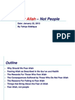 Fear Of Allah-HW Assignment by Tahiya