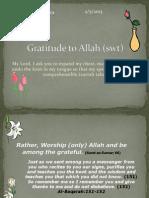 GratitudeToAllah-HW Assignment bySanober