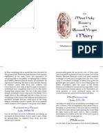 Rosary Meditations Biblical